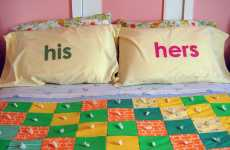 DIY Labeled Pillows