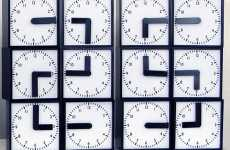 24-in-1 Clocks - The 'Clock Clock' by Humans Since 1982  Made of 2 Dozen Watches