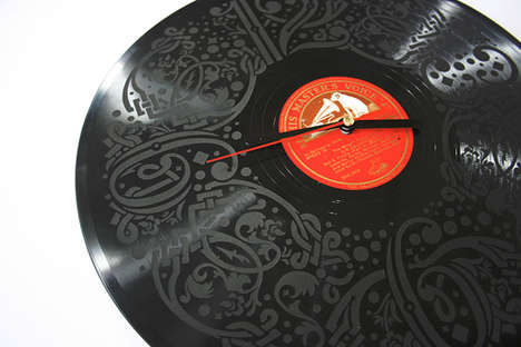 Artistic Vinyl Canvases - The 'Record Time' Collection Exhibits Designs From 24 Artists