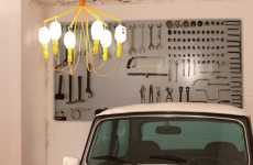 Auto Shop Chandeliers