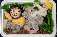 Edible Cartoons - 'Where the Wild Things Are' Bento Box Celebrates the Children's