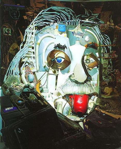 3D Garbage Portraits
