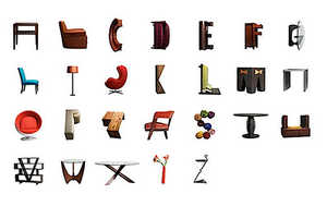 The Butler Bros. Create a Design Typeface Using Home Decor