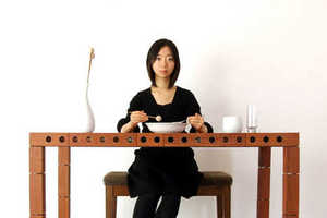 From Musical Marimba Dining Tables to Solar-Powered Side Tables