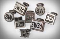 3D Cufflinks - Shapeway's Cufflink Creator Makes Elevated Styles For Your Wrists
