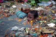 Gratitude-Inducing Photojournalism - Images of Heavy Pollution Evoke Appreciation for Cleanliness