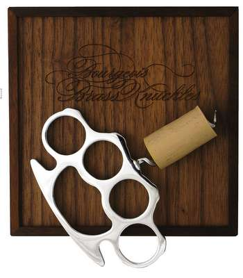 Classy Brass Knuckles