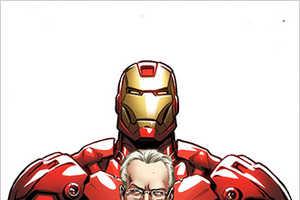 Tim Gunn Animated as Iron Man for 'Models Inc.' Comic
