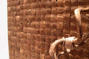 Coconut Wall Tiles Add a Touch of the Exotic