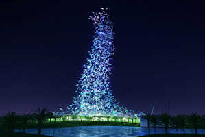 Hongbo Lu Proposes Flying Color Building for Dubai