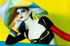 Color Pop Paintography - Miles Aldridge's Overly Saturated Fashion Editorials