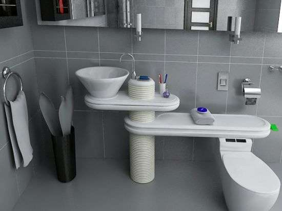 Water-Saving Bathrooms