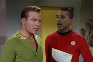 Presidential Star Trek Makeovers: Beam Me Up, Obama
