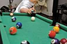 Billiard Playing-Babies