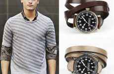 Bracelet Watches for Men - Burberry's Triple Wrap Leather Watch Makes Jewelry Styles for Guys