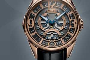 Milus Knows How to Make a Luxury Time-Teller Look Swank