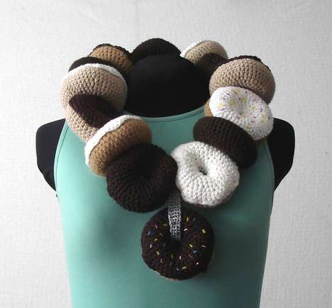 Fatty Food Fashion - Drool Over Joy Kampia's Crocheted Cuisine Clothing