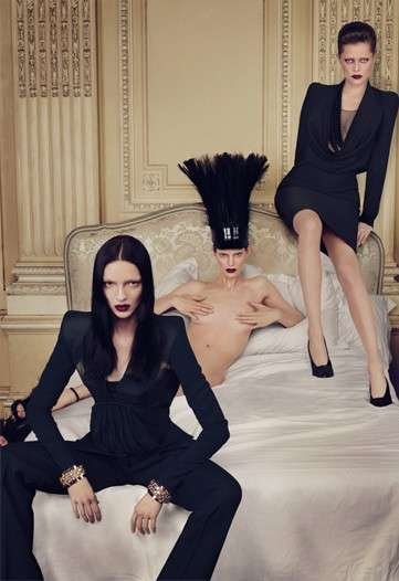 Goth Fashion Campaigns - Givenchy's Fall/Winter Ads Are Fierce