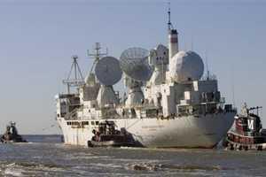 Crews Plan to Sink the Vandenberg to Make Artificial Reef