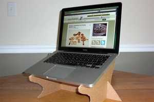Recycled Cardboard Is Fast, Fun & Cheap for Computer Geeks