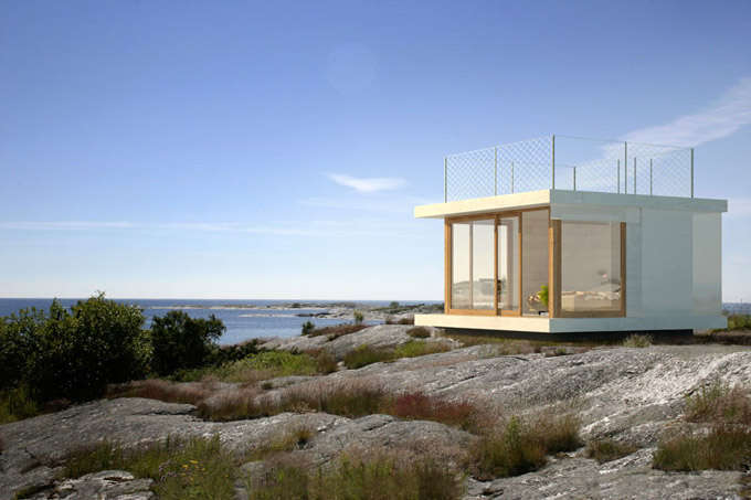 Cubic Summer Cabins