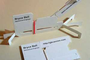 Bryce Bell Creates the Cardapult for Wallet-Sized Warfare