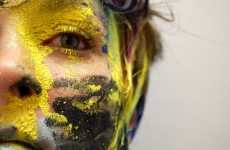 Splatter-Painted Portraits