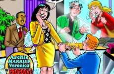 Blogging Comics - Betty Cooper & Veronica Lodge Blog About Archie Andrews' Proposal