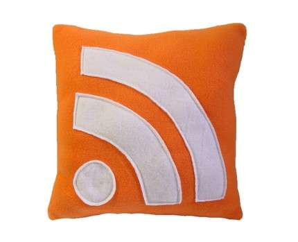 RSS Pillows - Geektastic Iconic Pillows Take Your Feeds to Bed
