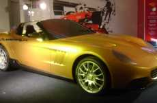 Pininfarina 'Golden Ferrari' Based on '65 Spyder