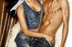 Denim-on-Denim - Guess Jeans Sell With Blue and Lots of Skin in S/S 09 Campaign