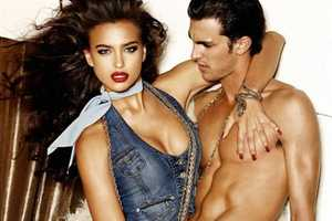 Guess Jeans Sell With Blue and Lots of Skin in S/S 09 Campaign