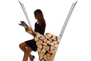 Stylish Wood Piles by Ak47 Design