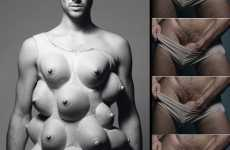 Men With 13 Breasts - 'Gender Bender' in Tush Magazine
