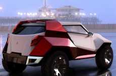 Futuristic Geometric Cars