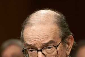 Alan Greenspan Looks to Male Skivvies to Track Impact of Recession