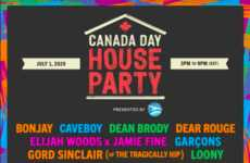 Branded Charitable Viral Festivals - AIR MILES Debuts the Canada Day House Party Supporting CMHA