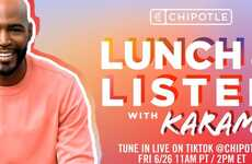 QSR Pride Livestreams - Chipotle Launched a 'Lunch & Listen' Event on the TikTok Platform