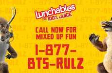 Kid-Specific School Hotlines - Lunchables Made a Hotline to Help Back-To-School Nerves