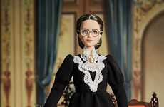 Female Voter-Celebrating Dolls - Mattel Debuts a Susan B. Anthony Barbie to Celebrate Women Voters