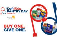 Charitable Food Security Initiatives - Kraft Heinz Works with Food Banks Canada in a New Initiative