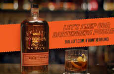 Hospitality-Supporting Whiskey Initiatives - Bulleit Whiskey is Giving $250K to Support Bartenders