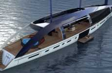 Solar Sail Luxury Yachts - The 'Soliloquy' Blows its Competitors Out of the Water