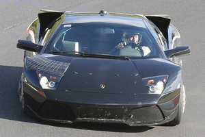 Potential Murcielago Successor Spotted in Nurburgring, Germany