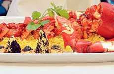 $3,000 Curry - Bombay Brasserie Garnishes Lobster With Caviar & Edible Gold