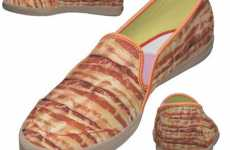 Bacon Shoes - Keds Makes a Mouthwatering Pair of Breakfast Kicks