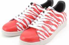 Tiger Stripe Sneakers