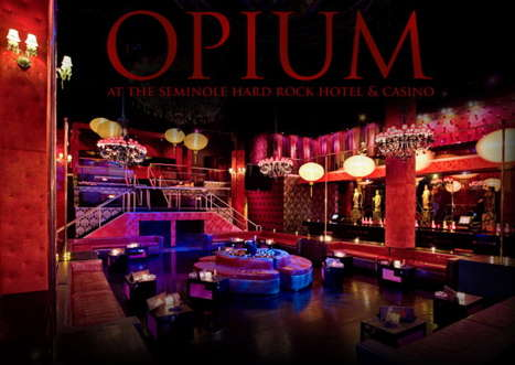 "Drug Themed Nightclubs - Miami's ""Opium"" is Designed to be a Modern Day Opium Den"