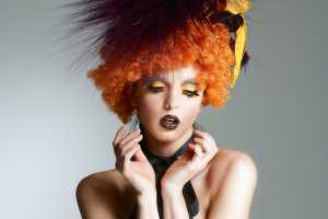 PetOrly Captures Models as Couture Clowns