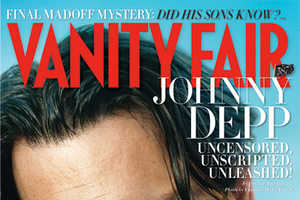Reclused Johnny Depp Fronts July 2009 Edition of Vanity Fair